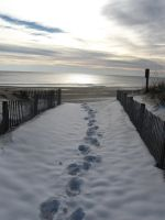 Footprints in the Snow by KPeters626