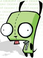 Invader Zim - Gir of Doom by lthot