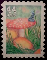 A Bit of Wonderland .:stamp:. by strryeyedreamr27