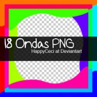 18 Ondas Png by HappyCeci
