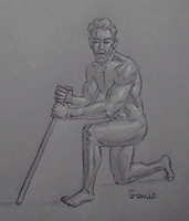 Figure Drawing #27 by AngelGanev