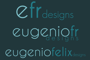 Personal Logo Variations by eugenio1