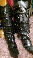Alduin Boots- Paint Phase COMPLETE by NixxH