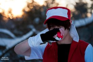 PKMN TRAINER RED wants to battle! by LokiBoki