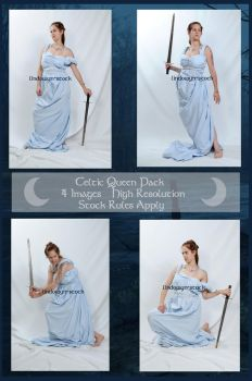 Celtic Queen Pack by lindowyn-stock
