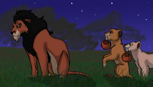 Lion King Halloween by Morgan-Michele