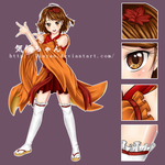 Anime Club Mascot ~ Kikou-chan { 2014 PREVIEW } by LinYan