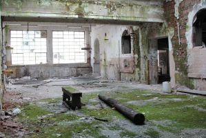 Old factory Stock 026 by Malleni-Stock