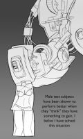 GlaDOS has appeal by Trakker