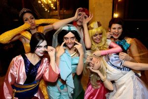 Disney crazy princess by Ryoko-demon
