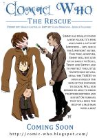 Comic Who - The Rescue by elisamoriconi