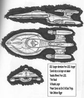 I.S.S. Voyager Sketches by stourangeau