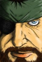 Big Boss by solid-snake92