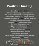 Let us be a positive thinker, let us see the burni by wearartandliterature