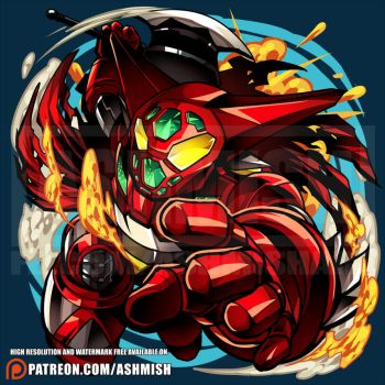 Getter Robo by ashmish