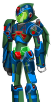 Mega Man X - Ordarium Armour by Arby-Works