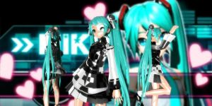 Conflict Miku Dt by GrayFullbuster21