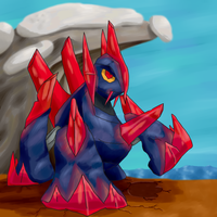 Gigalith  by HoneyShuckle