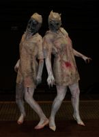 Silent Hill Nurses Cosplay by Beaverlady