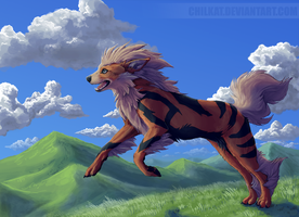 Arcanine by Chilkat