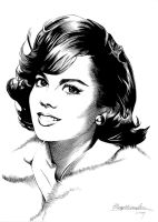 Natalie Wood by Viktalon