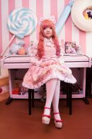 Sweet lolita - Pink girl by nyaomeimei