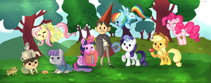 OtGW MLP Crossover - Attack of the pones. by EverlastingDerp
