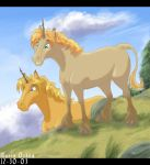 Merry and Pippin Unicorns by agra19