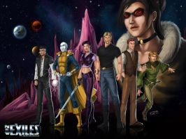 The New Guardians of Galaxies by c-t-elder