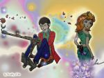 Flower Power Lupin by Dorothy-of-Oz