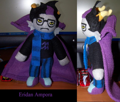 Eridan Plush by JadeStorm