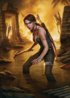 Tomb Raider Official Comic Picture HQ by TombRaider-Survivor
