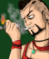 Vaas Far Cry 3 colo by DarkRyuXKira