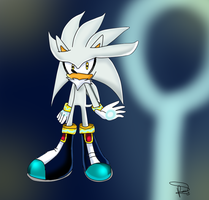 silver the hedgehog by gisselle50