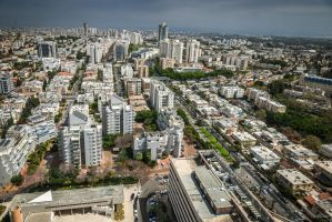 roofs of Tel Aviv - Givatayim by Rikitza
