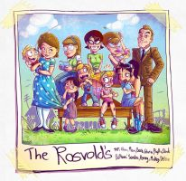 The Rosvold's by sirhcsellor