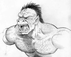 Orc Scream by mjarrett1000