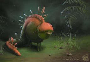 Weird little creature by Noukah