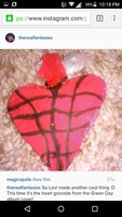 Heart Grenade by Lonely-North-Star