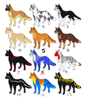 Canine Adoptables by gothic180