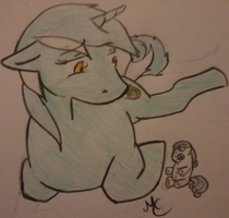 Great Big Disconnect -Lyra and BonBon- by CrashNebulissa