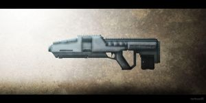 Assault Rifle by TheIllustrativeMan