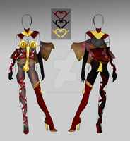 (closed) BUY NOW - Saggitarius Outfit Adopt by CherrysDesigns