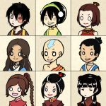 Avatar Chibis by kelly1412