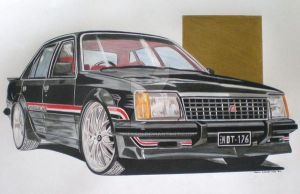 vc hdt commodore -black by domrexsin
