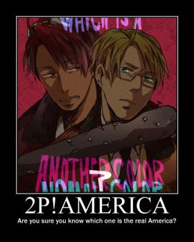 2P!America Motivational Poster by KagamiTheQuiet