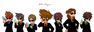Goggle Boys in Black by adventure-heart