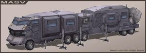 MASV - Mobile Atmospheric Scanner Vehicle by Luneder