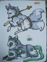 Cross and Mould SOLD by EnchantedAdopts