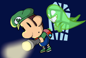 Baby Luigi's Mansion by SuperAj3